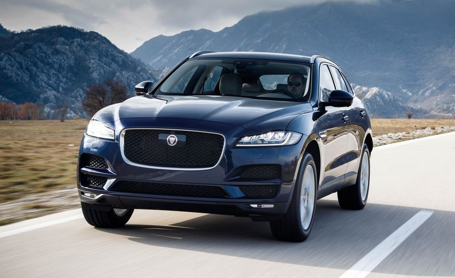 2018 jaguar f pace photos and info news car and driver. Black Bedroom Furniture Sets. Home Design Ideas