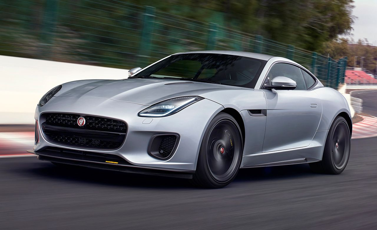 2018 Jaguar F Type >> 2018 Jaguar F Type Photos And Info News Car And Driver
