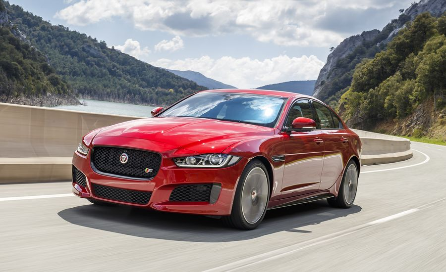 2018 jaguar xe updated with new engine options news car and driver. Black Bedroom Furniture Sets. Home Design Ideas