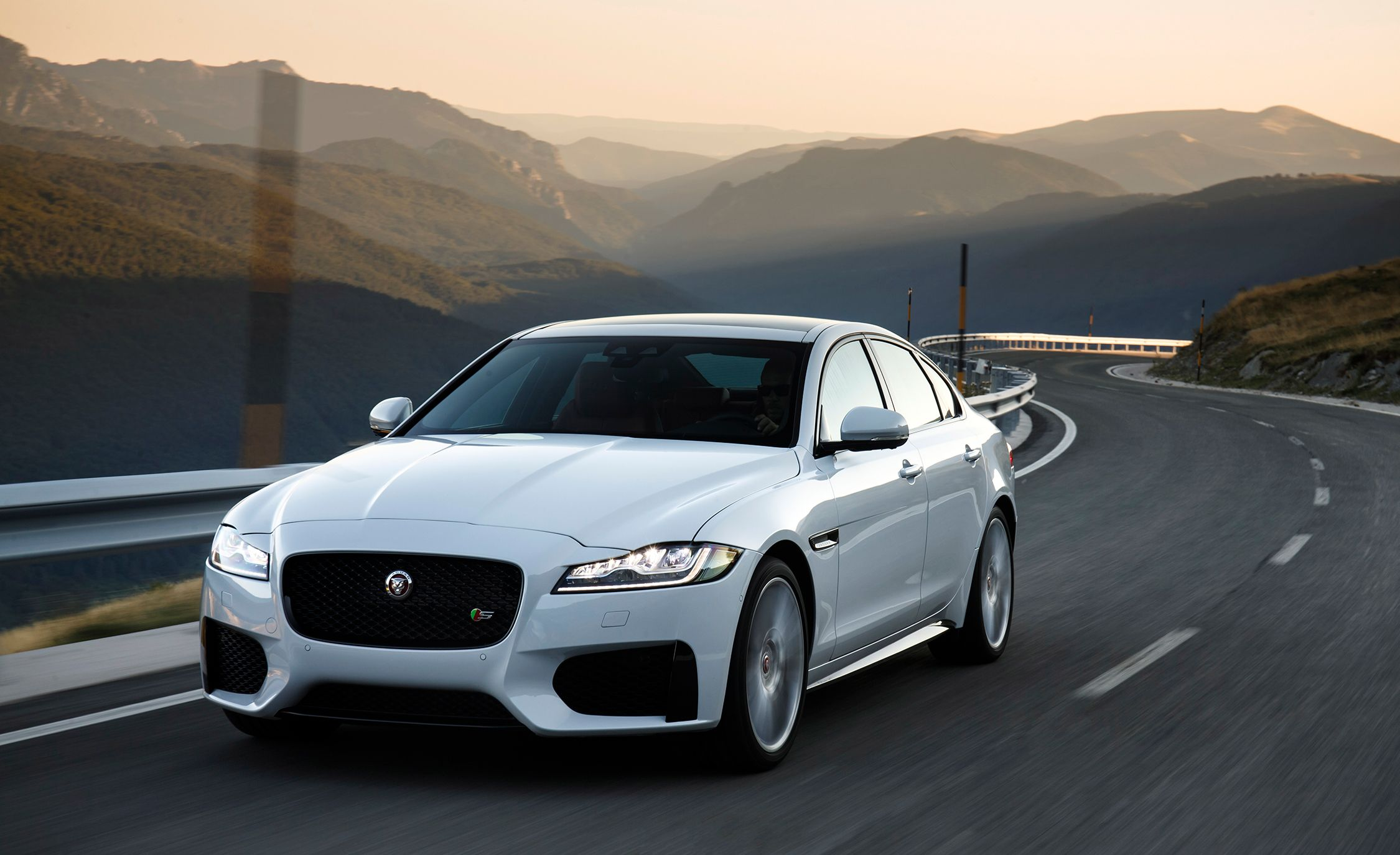 2018 Jaguar Xf Photos And Info News Car And Driver