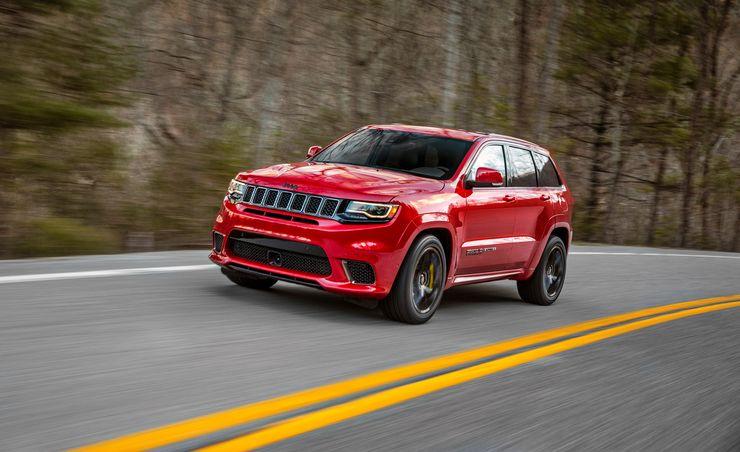 2018 Jeep Grand Cherokee Trackhawk: The World's Most Powerful SUV