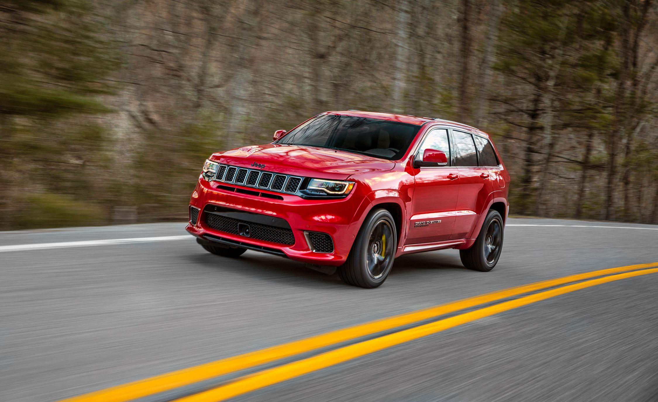 2018 Jeep Grand Cherokee Trackhawk: The Worldu0027s Most Powerful SUV
