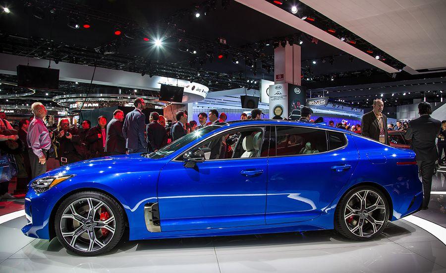 Kia Stinger Sports Sedan Photos And Info News Car And Driver