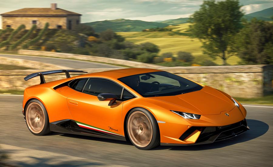 2018 Lamborghini Huracan Performante A Four Wheel Drive Aerodynamic All Timer