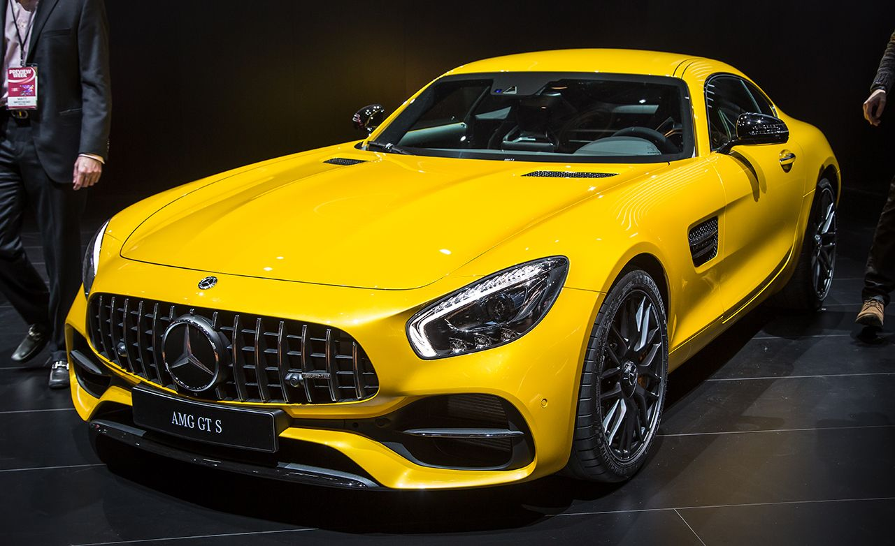 2018 mercedes amg gt c coupe performance and exclusivity