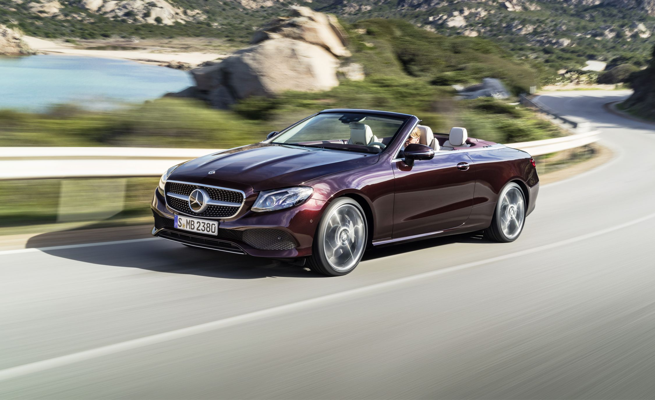 2017 Mercedes Benz C Class Cabriolet First Drive Review Car And