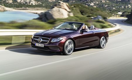 2018 Mercedes-Benz E-class Cabriolet Revealed, Gains Elegance, Space, and Style