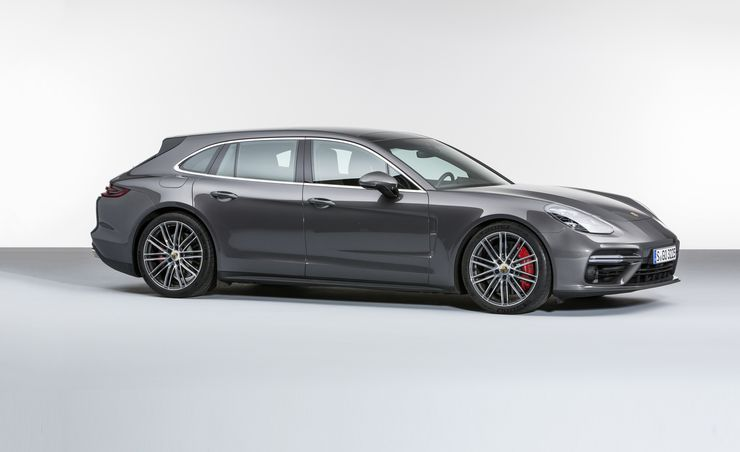 2018 Porsche Panamera Sport Turismo: Yes, a Porsche Station Wagon Now Exists