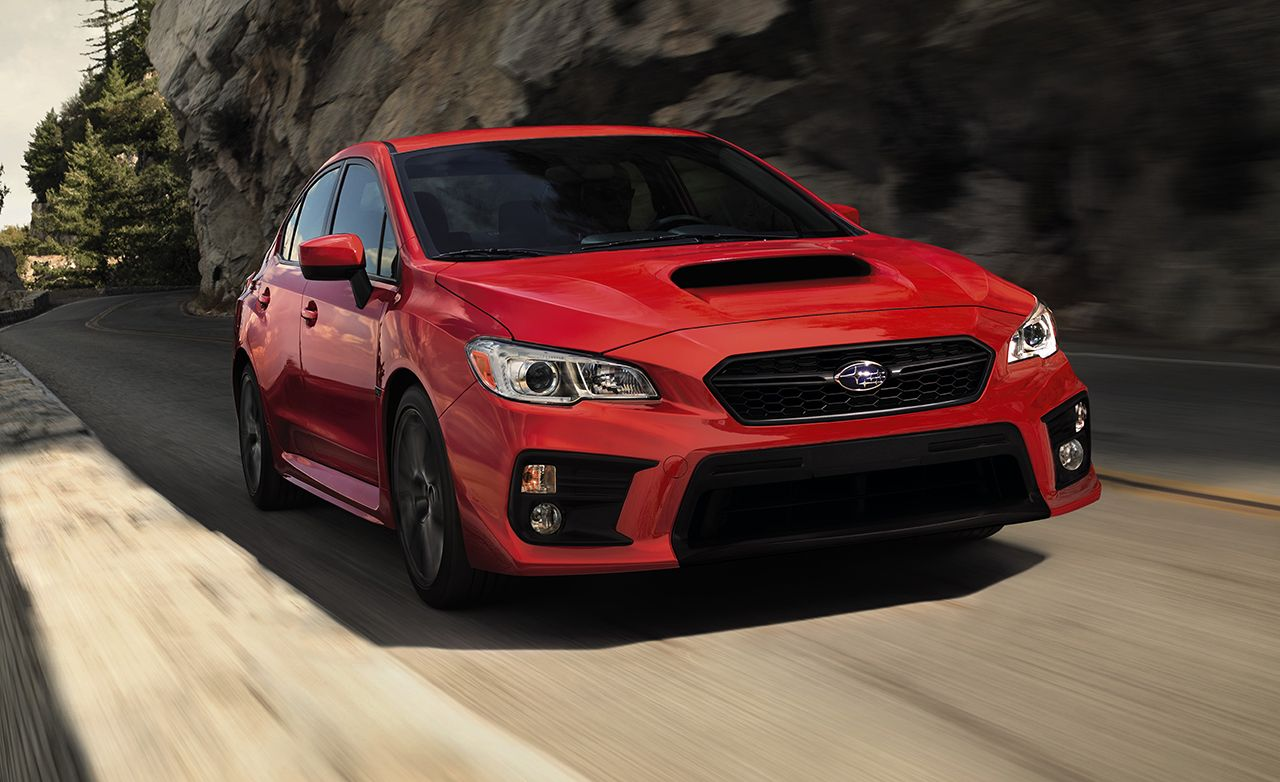 2018 Subaru Wrx And Wrx Sti Photos And Info News Car And Driver