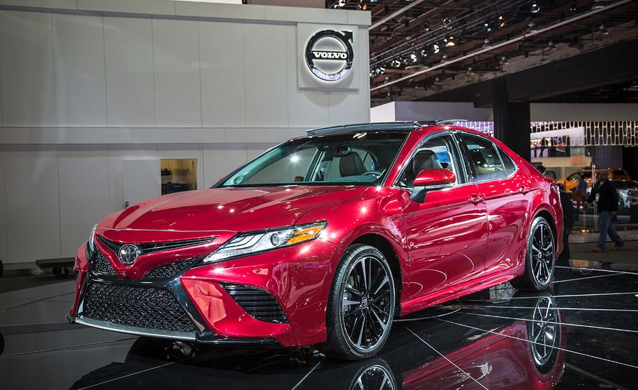 2018 Toyota Camry America S Favorite Sedan Is All New