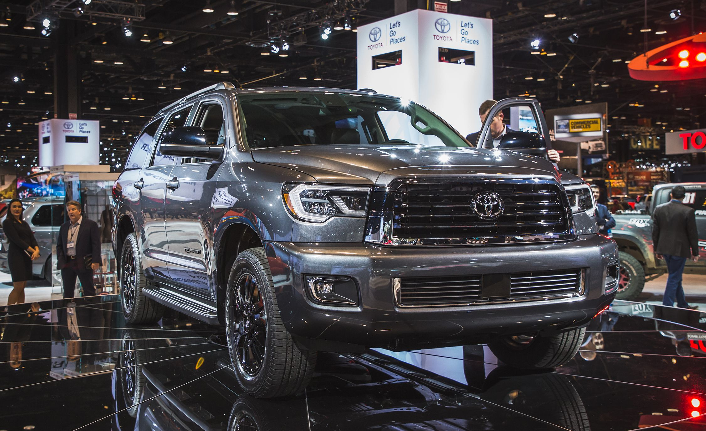 2018 Toyota Sequoia Photos and Info | News | Car and Driver