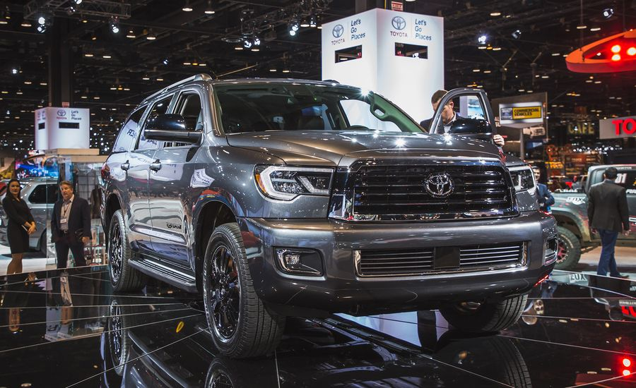 2018 Toyota Sequoia The Ancient Behemoth Gets Updated