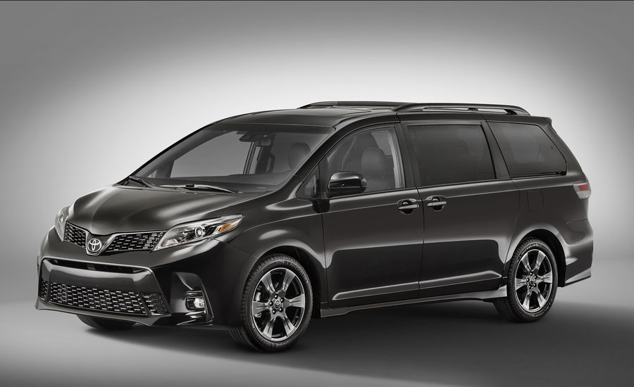 2018 Toyota Sienna Updated Looks And Tech To Match The Train