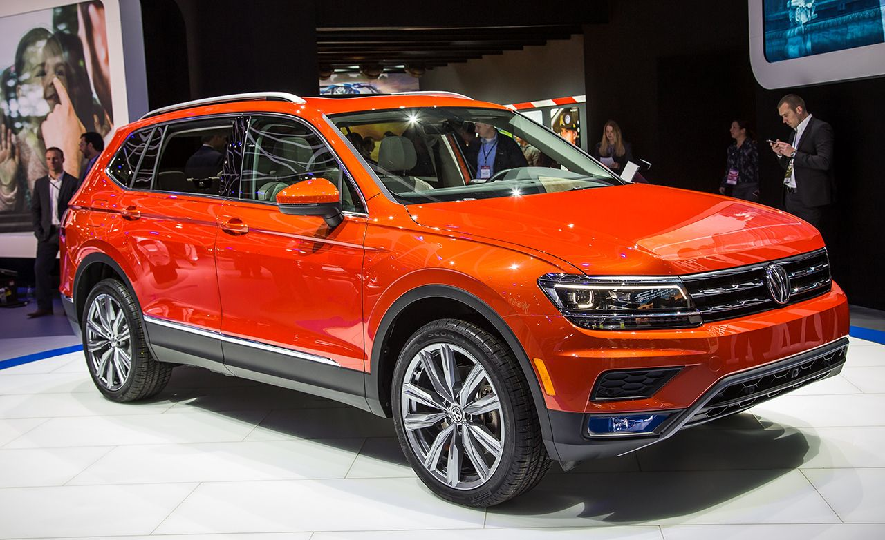 Volkswagen Tiguan Reviews Price Photos And Specs Car Driver