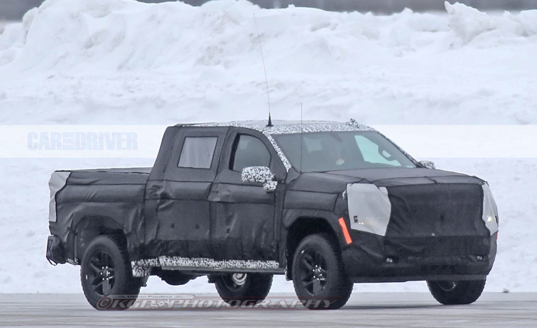2019 Chevrolet Silverado 1500 Spy Photos: Real Photos, Not Renderings