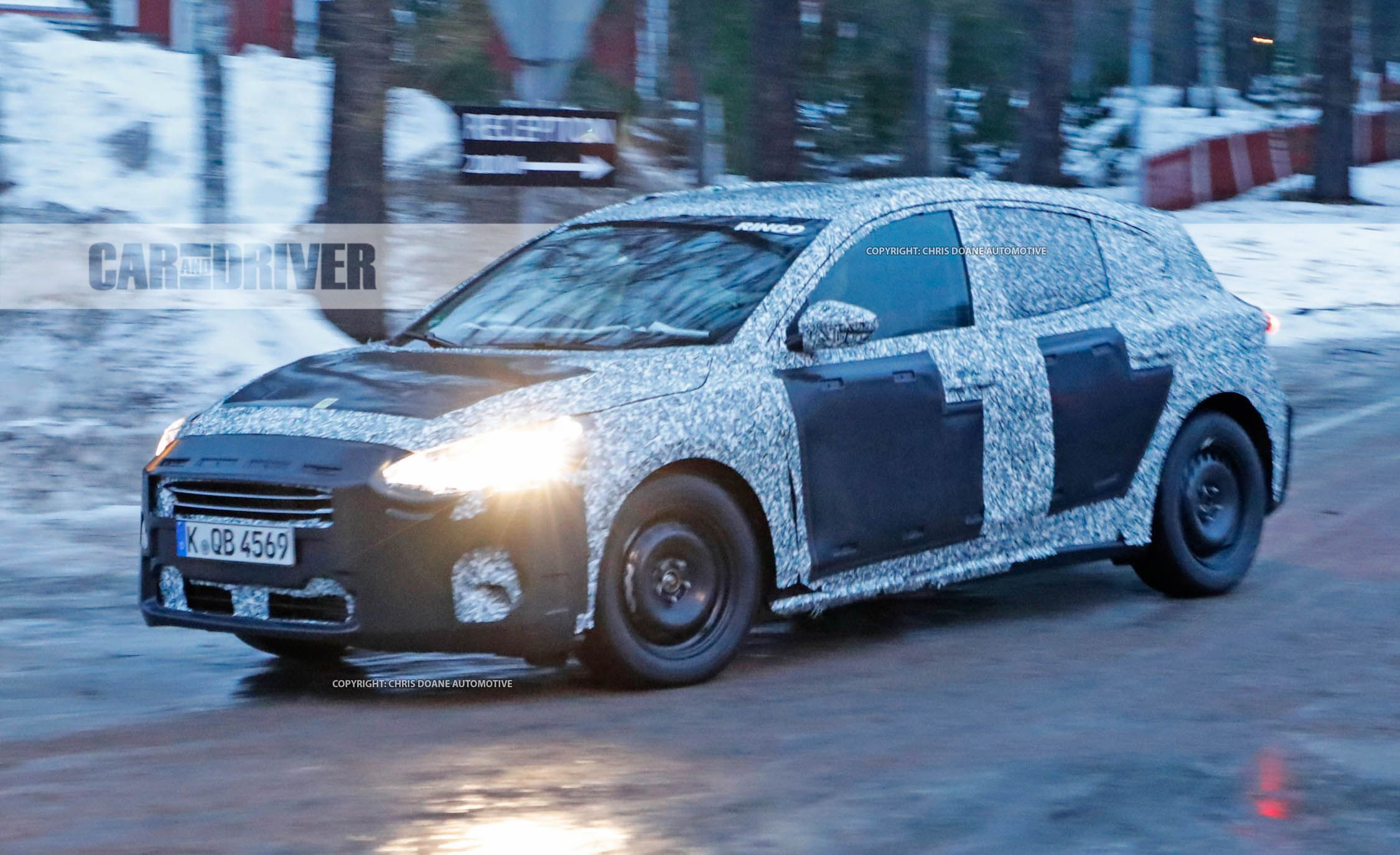 2019 ford focus spy photos news car and driver