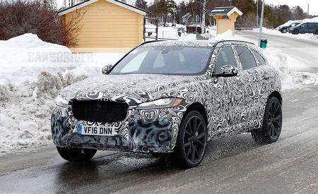 2019 Jaguar F-Pace SVR: Jaguar's 570+HP SUV Caught Testing!