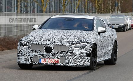 2019 Mercedes-AMG GT Four-Door Spied!