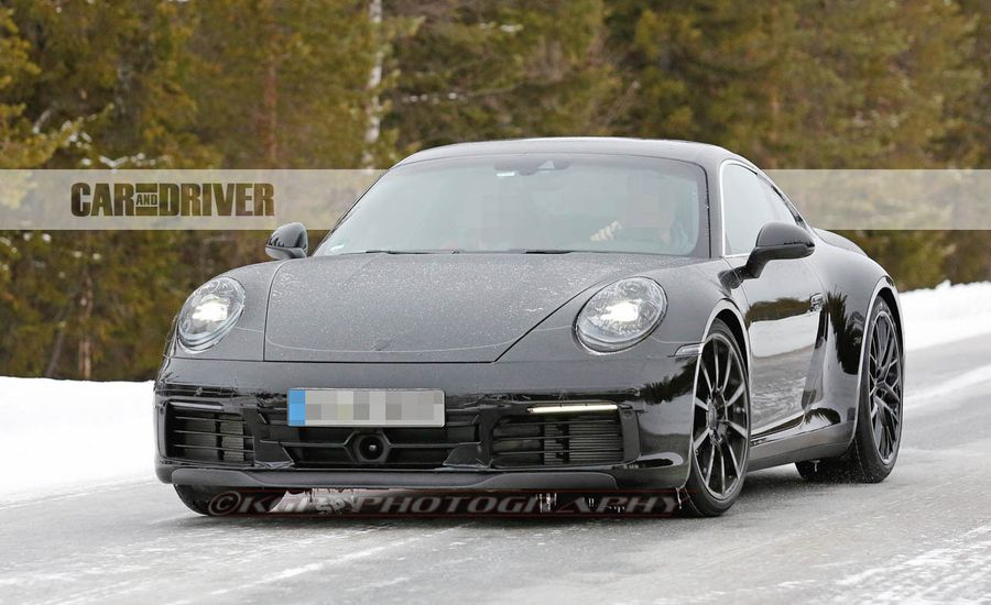 2020 Porsche 911 Coupe and Convertible Spied!