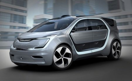 Chrysler Portal Concept: Portending Chrysler's Possible Electric Minivan