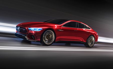 Mercedes-AMG GT Concept: Four Doors, 805 HP, and Production Intent