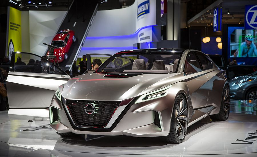 Nissan Vmotion 2.0 Concept: It's Vmotion Taking Us Over
