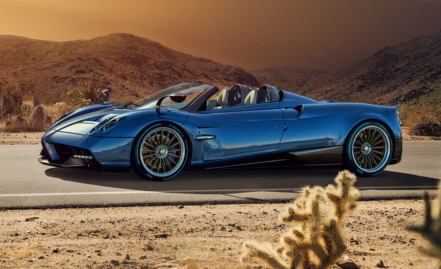 2017 Pagani Huayra Roadster: A Born-Again Topless Supercar