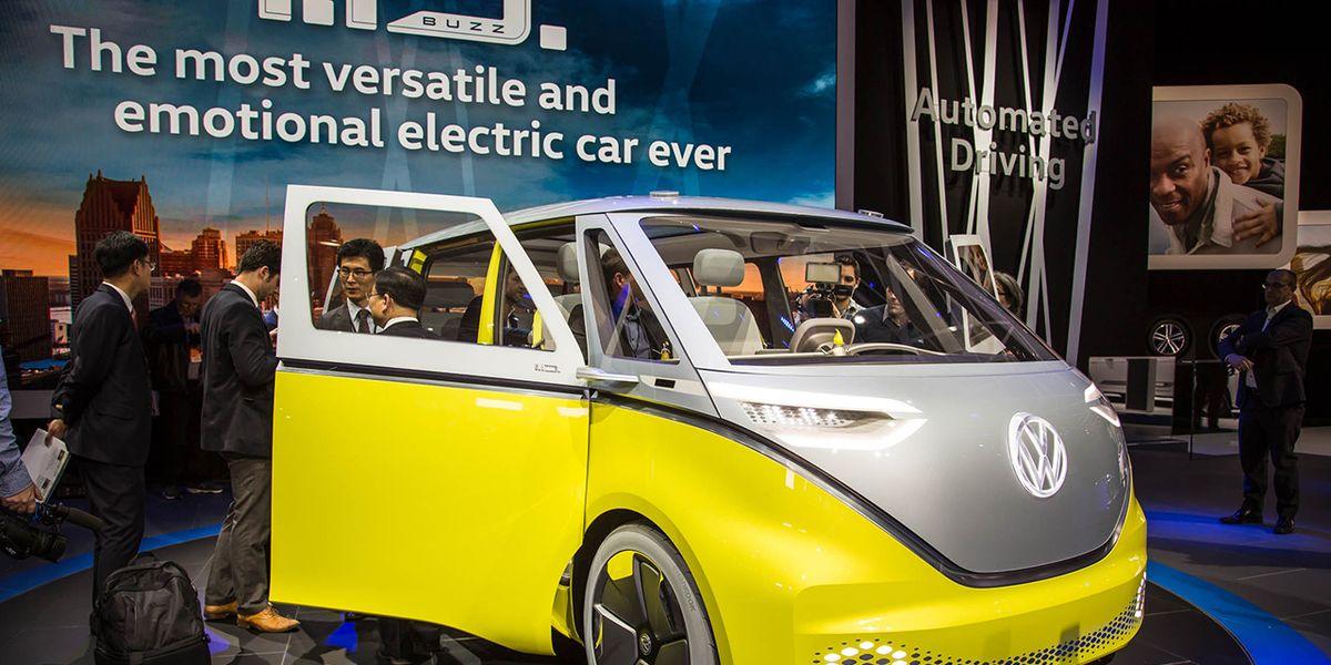 Volkswagen Id Buzz Ev Concept Photos And Info 8211 News 8211