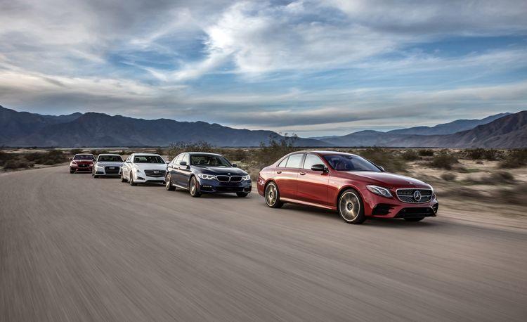 2017 Audi A6 3.0T Competition vs. BMW 540i, Cadillac CTS V-Sport, Jaguar XF S AWD, Mercedes-AMG E43 4MATIC