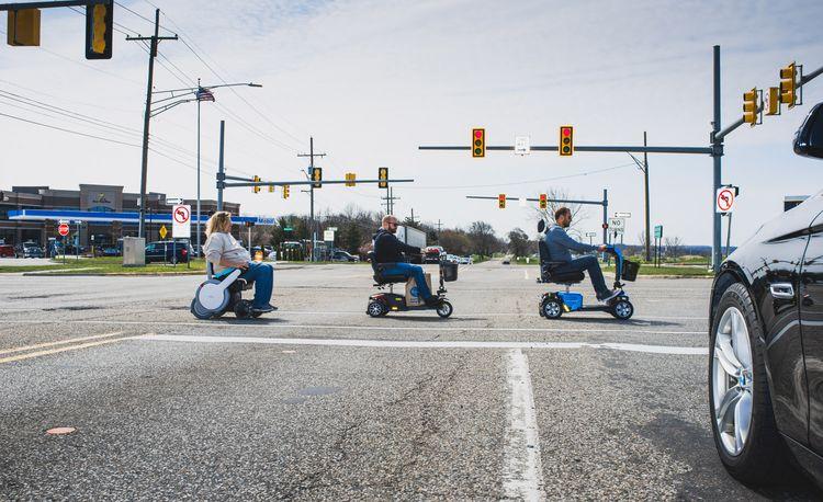 Mobility Scooter Showdown: Whill Model A vs. Golden Tech Buzzaround EX vs. Pride Mobility Victory 10 LX