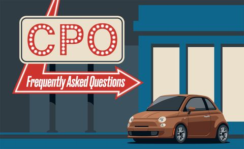 Buying A Cpo Used Car Frequently Asked Questions Feature Car