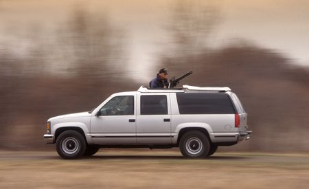 Life at C/D Can Be Weird, Like That Time I Was Pulled Over in a RHD Wagon with a 48-Inch Machine Gun in the Back