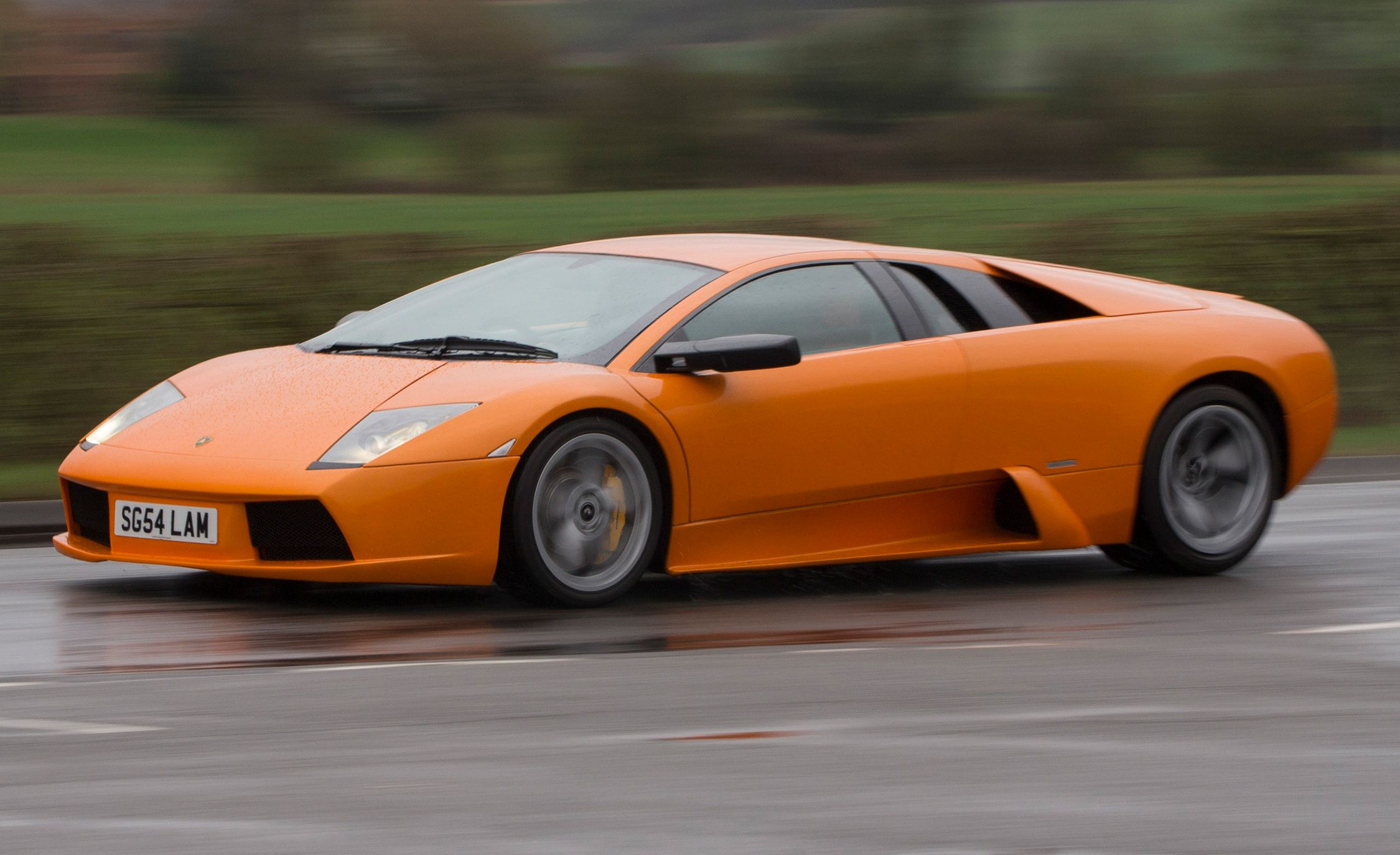 We Drive a 250,000-Mile Lamborghini Murcielago | Feature ...