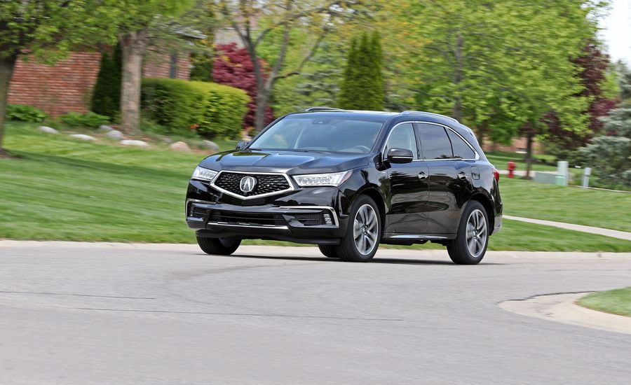 2017 Acura MDX Sport Hybrid Test | Review | Car and Driver on black acura, modified acura, slammed acura, white acura,