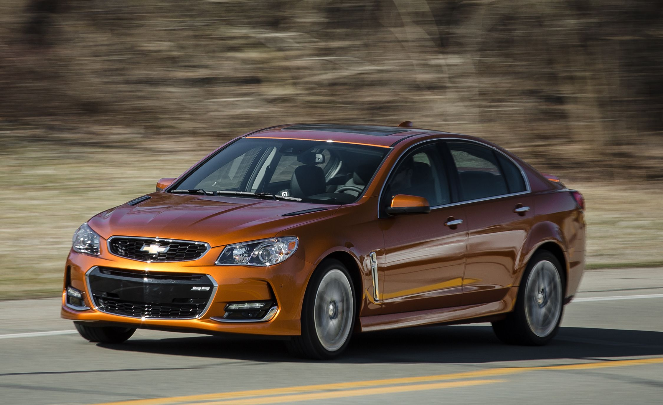 2017 Chevrolet SS Manual