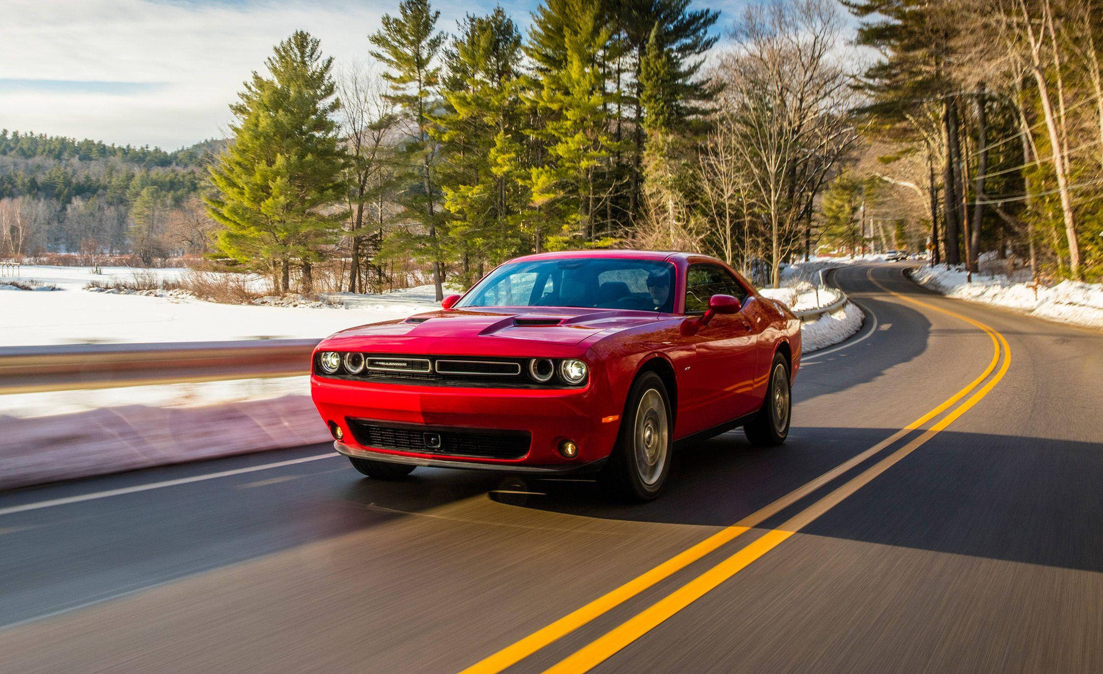 2017 Dodge Challenger Gt Awd Test Review Car And Driver
