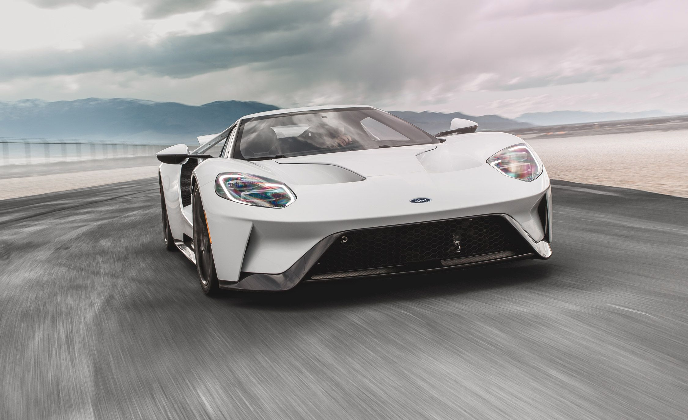 Ford Gt Supercar First Drive Review Car And Driver Rh Caranddriver Com
