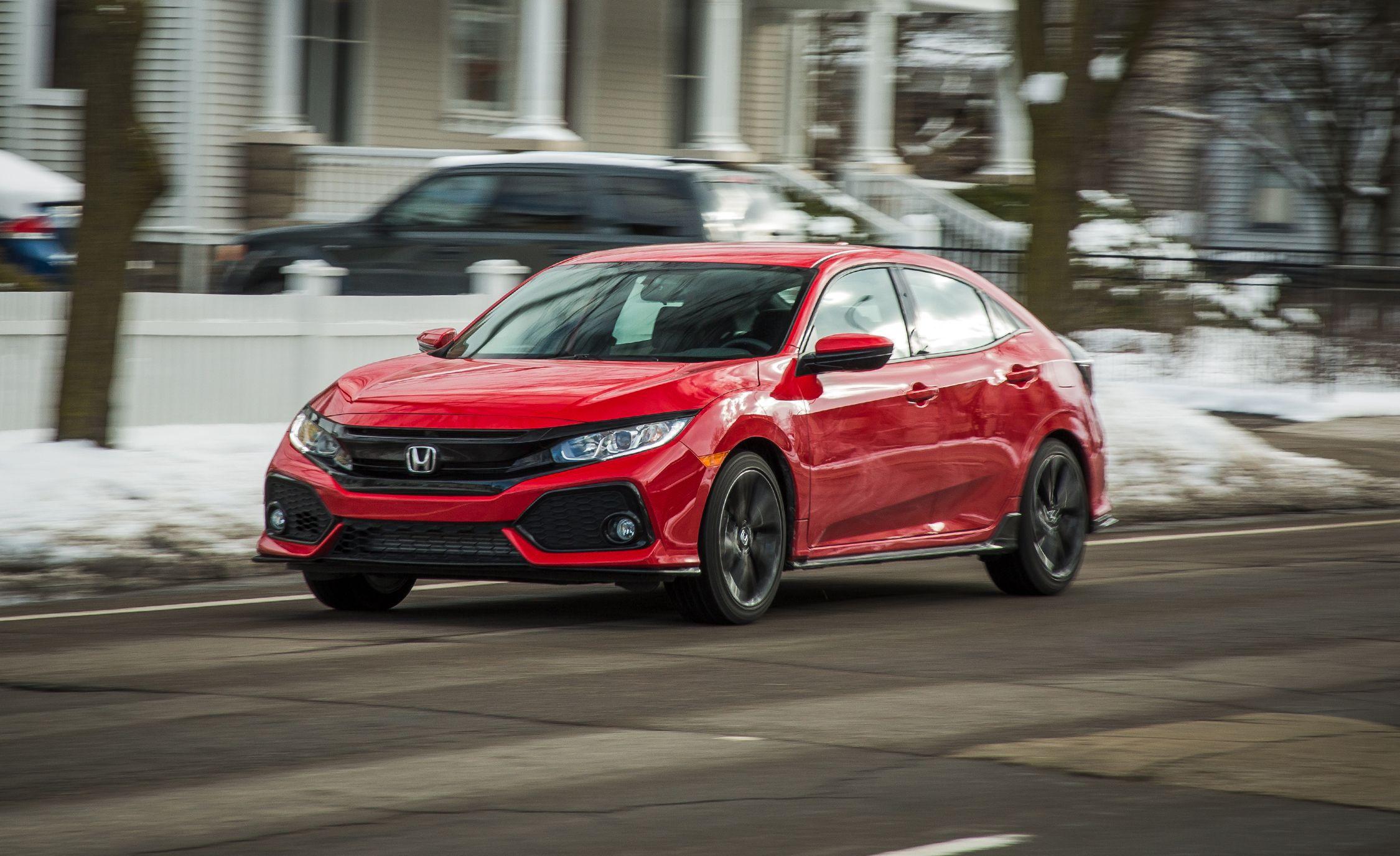 2017 honda civic hatchback 1 5t manual test review car and driver rh caranddriver com Honda Manual Transmission Fluid Honda CR-V Owners Manual