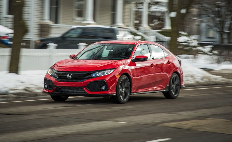 2017 Honda Civic Hatchback 1 5t Manual