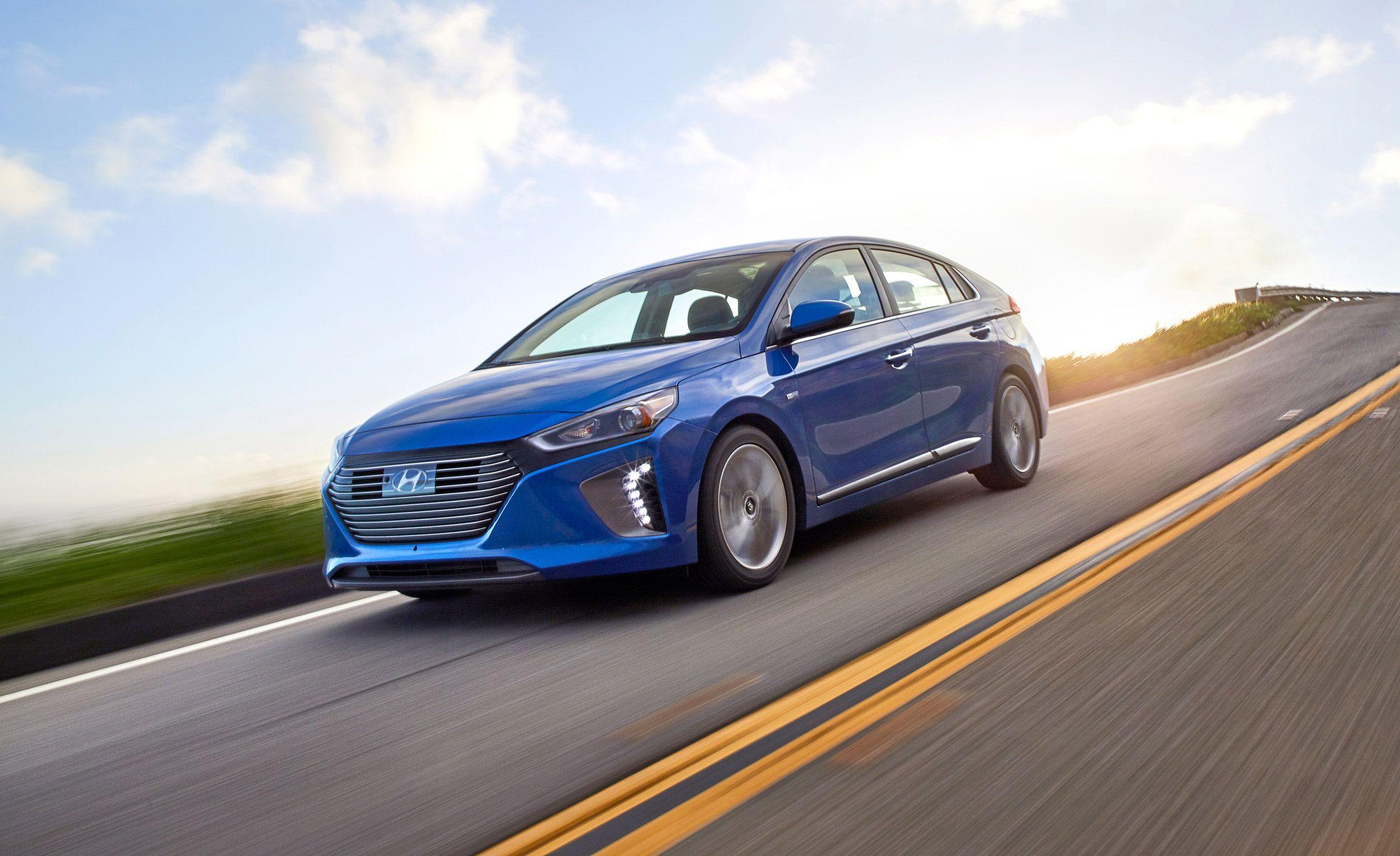 2017 Hyundai Ioniq Performance And Driving Impressions Review Car Driver