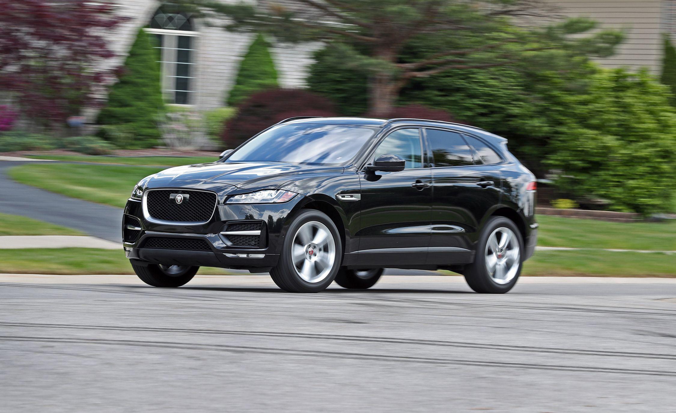 Jaguar f pace diesel review