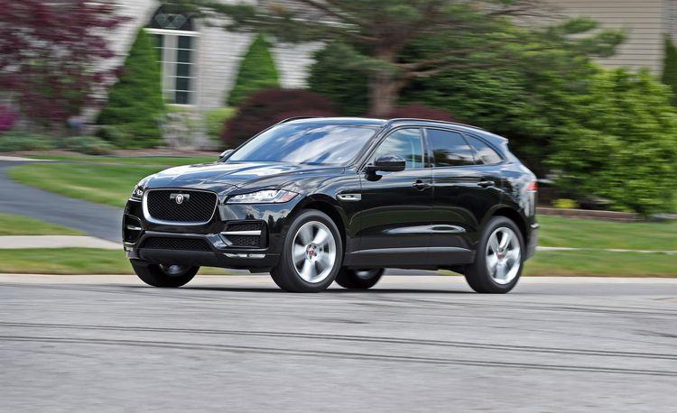 2017 Jaguar F-Pace 20d Diesel