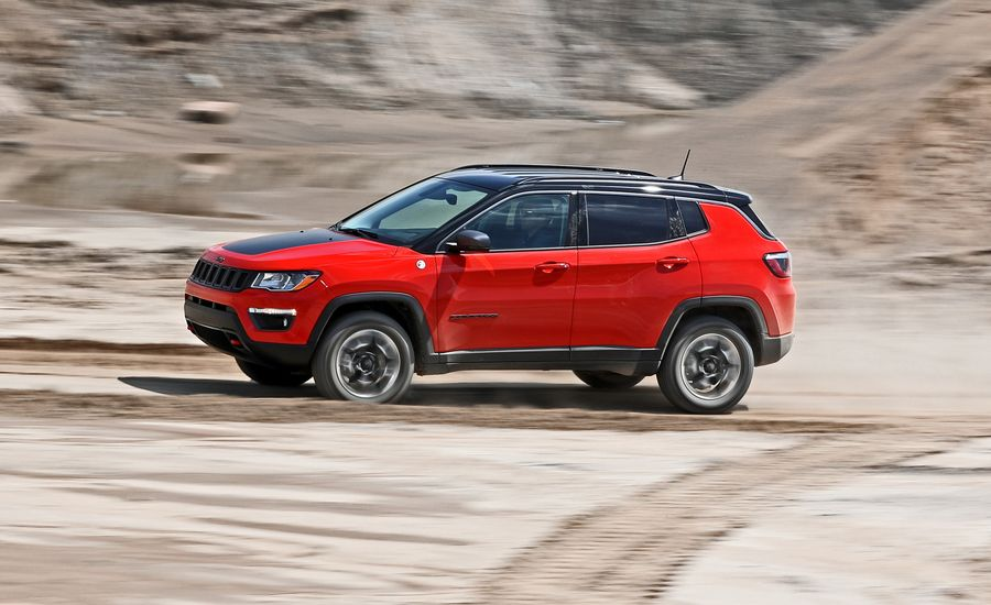 2017 jeep compass trailhawk tested review car and driver. Black Bedroom Furniture Sets. Home Design Ideas