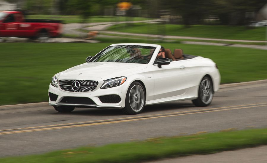 2017 mercedes amg c43 cabriolet test review car and driver for Mercedes benz c45 amg