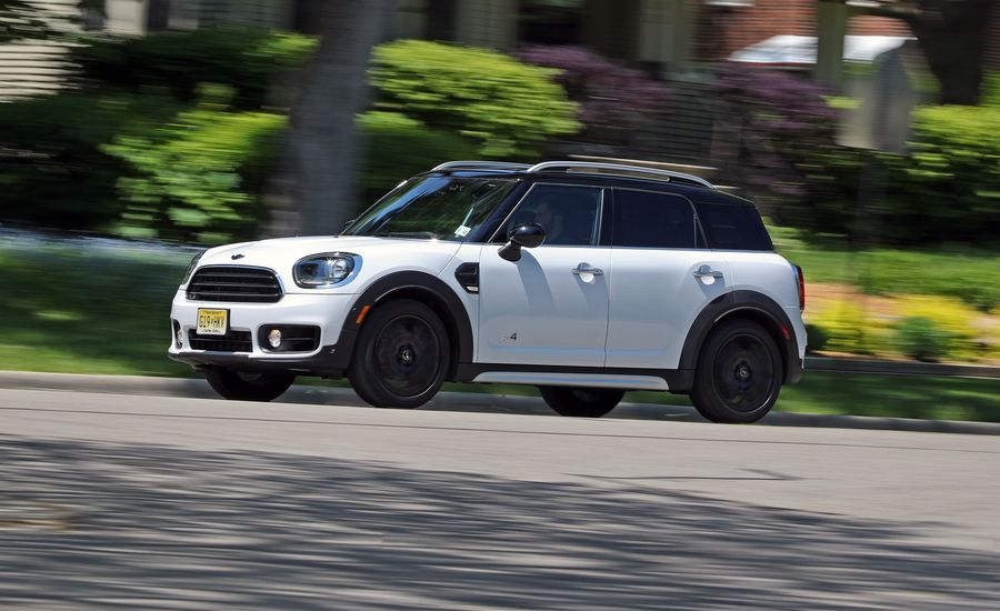 2017 mini cooper countryman all4 1 5t manual test review car and driver. Black Bedroom Furniture Sets. Home Design Ideas