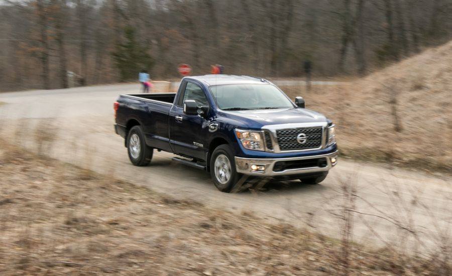 2017 Nissan Titan V 8 4x4 Single Cab Test Review Car And Driver