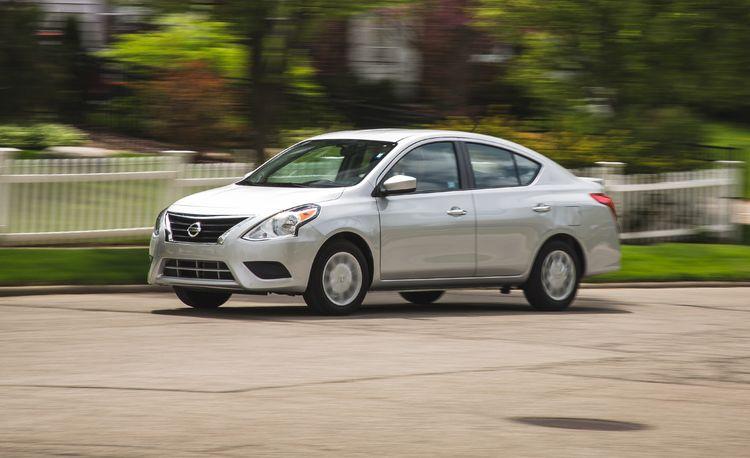 2017 Nissan Versa Sedan Automatic
