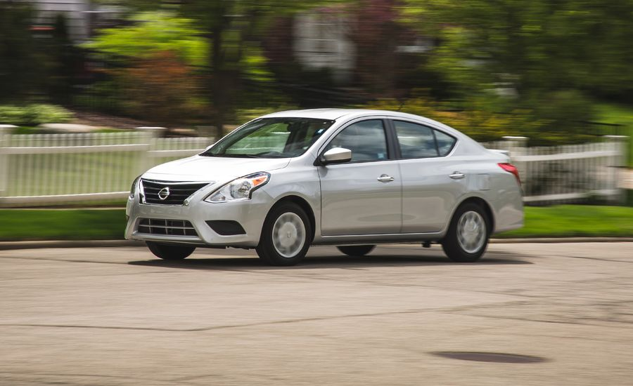 2017 Nissan Versa Sedan Automatic Test | Review | Car and Driver