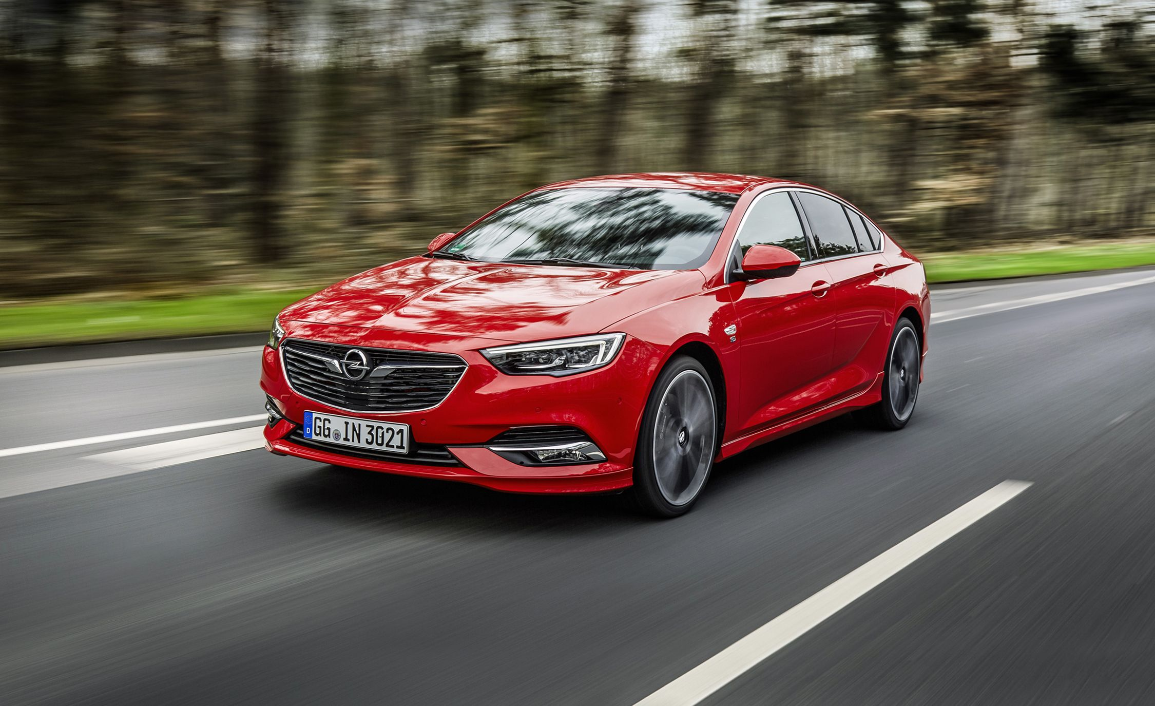 2017 Opel Insignia Grand Sport First Drive Review Car And Driver