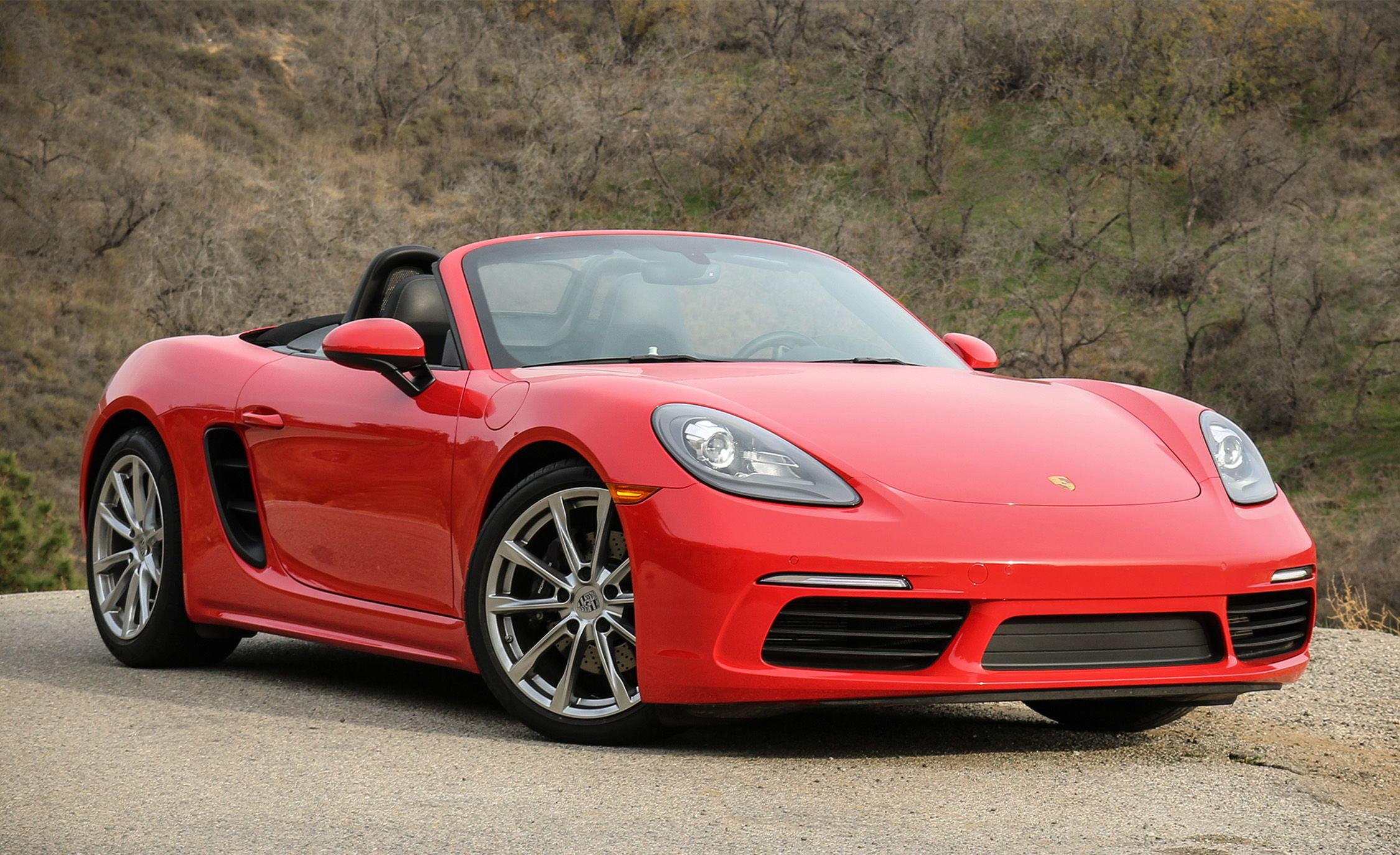 2017 porsche boxster 718 manual tested review car and. Black Bedroom Furniture Sets. Home Design Ideas